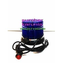 Lampu Strobo Led Magnet Federal Signal Blue