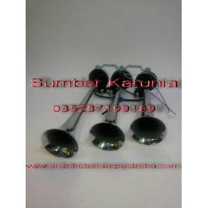 From Horn 3 Funnels 6 tones 24V 4