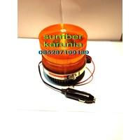 Dari Lampu Blitz Polisi Federal Signal 4 inch Magnet 12V 2