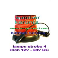 Jual Lampu Rotary AC 4 inch Merah 2