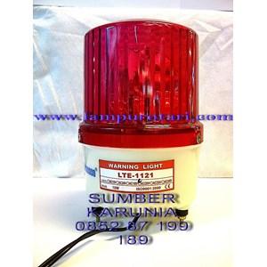 Lampu Rotary AC 4 inch Merah