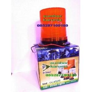 Lampu Strobo Primer 12V - 48V DC Amber