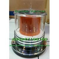 Lampu Rotari Merk Britax 12V - 24V Amber Murah 5
