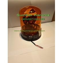 Lampu Rotari Merk Britax 12V - 24V Amber