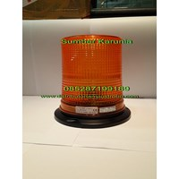 Lampu Led Rotary  6 inch 12V - 24V Kuning Murah 5