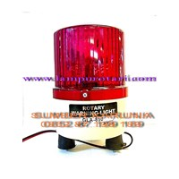 Lampu Rotary 4 inch 12V Merah