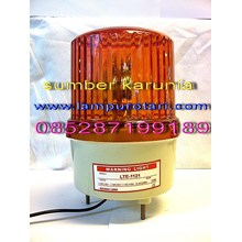 Lampu Rotary LTE 1121 220V Amber