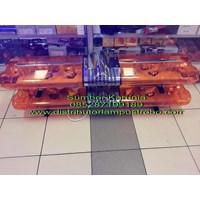 Distributor Lampu Led Strobo Polisi Minibar  30CM Kuning 3