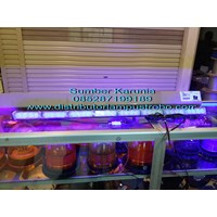 Dari Lightbar Rotator Led 12V E207 Biru 1