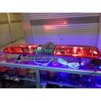 Distributor Lampu Rotary Ambulance 12V Merah - Merah 120cm 3