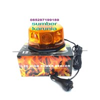 Rotary Led Magnet 4 inch Kuning 1