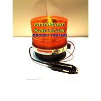 Lampu Rotary Britax 12V - 24V Kuning Murah 5