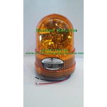Lampu Rotari Diamond 24V Kuning.