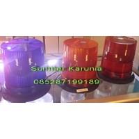 Distributor Lampu Rotary Led Merah 12V 3