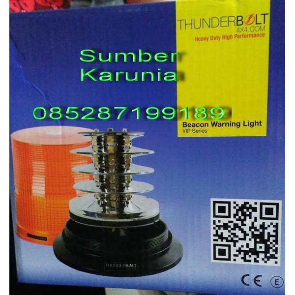 Lampu Strobo Polisi Thunderbolt 6 inch