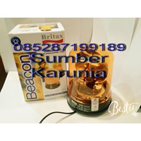 Lampu Rotary merk Britax 6 inch 12V - 24V.