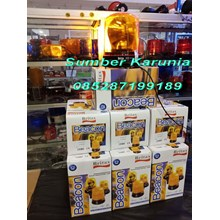 Britax 6 Inch B370 Yellow Rotary Lamp