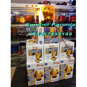 From Britax 6 Inch B370 Yellow Rotary Lamp 8