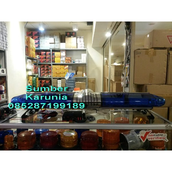 Lightbar Rotator Polisi Led Biru - Biru