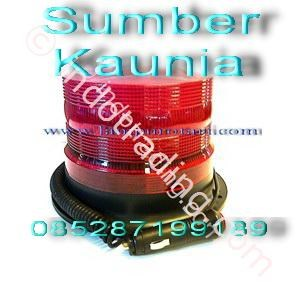 Lampu Rotari LED 6 inch Merah
