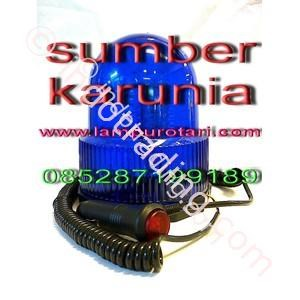 4 inch Rotary led Biru