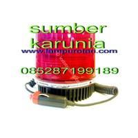 Lampu Strobo 4 inch Merah 24V Murah 5