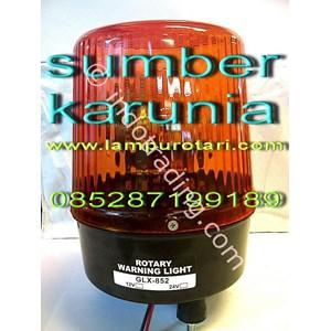 Lampu Rotari 24V amber