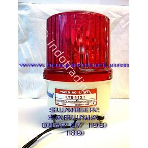 Lampu Rotari AC 220V Merah