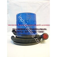 Lampu Rotari LED Biru  12V 1
