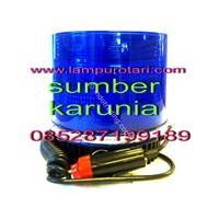Distributor Lampu Rotari LED Biru  12V 3