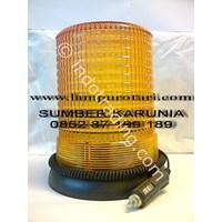 Distributor Lampu Rotari LED Biru 6
