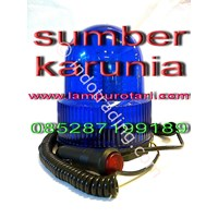 Lampu Rotari LED Biru 24V 1