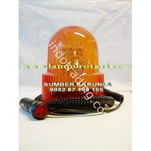Dari Lampu Rotari LED Biru 24V 6