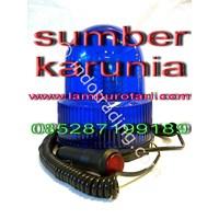 Lampu Blits 12V Biru LED 1