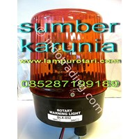 Distributor Lampu Rotari Diamond Amber  3