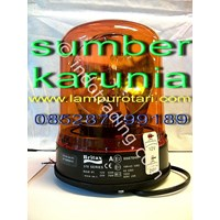 Beli Lampu Rotari Diamond Amber  4