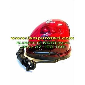 Lampu Rotari Magnet Merah