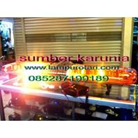 Lightbar Polisi LTF 9711 Kuning - Kuning 1