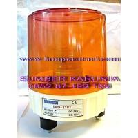 Jual Lampu Rotari LED 6 inch Amber 2