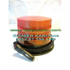 Lampu Rotari LED 6 inch Amber