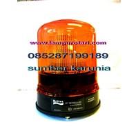 Lampu Rotary DC 6 inch Merah Murah 5