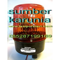 Distributor Lampu Rotary 4 inch 12V Merah. 3