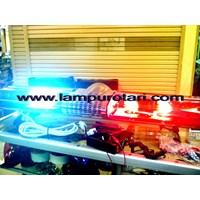 Jual Lampu Lightbar Ambulance Merah - Merah 2