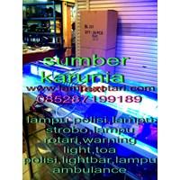 Distributor Lampu Lightbar Ambulance Merah - Merah 3