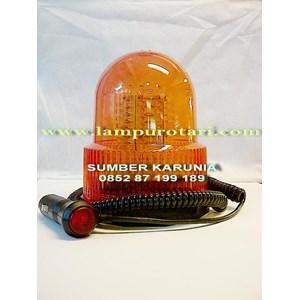 Lampu Rotari LED 4 inch Kuning