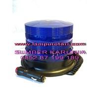 Jual Lampu Rotari 4 inch Magnet Biru 2