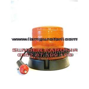 Lampu strobo 3 inch amber 12V