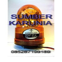 Distributor Lampu Rotari 6 inch DC Merah 3