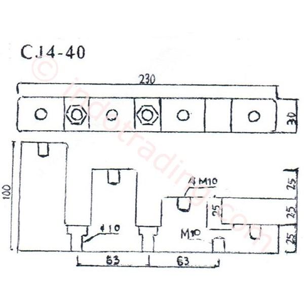 Step Insulator Cj4-40
