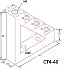 Step Insulator Ct4-40                     2